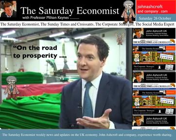 The Saturday Economist, Latest Blog Post, On the road to prosperity