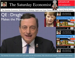 The Saturday Economist, QE - Draghi Makes the move