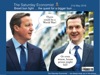 The Saturday Economist, Brexit Bun Fight ...