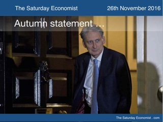 The Saturday Economist Autumn Statement