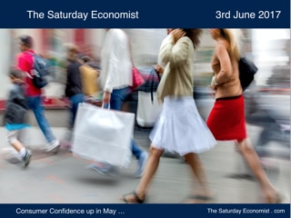 The Saturday Economist Consumer Confidence Up in May