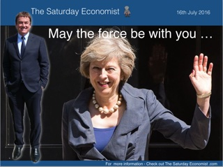 The Saturday Economist - May the force be with you ...