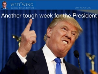 The West WIng, Whisky, Tango, Foxtrot ... Another tough week for the President