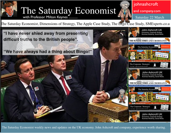 The Saturday Economist, of the budget, borrowing and jobs.