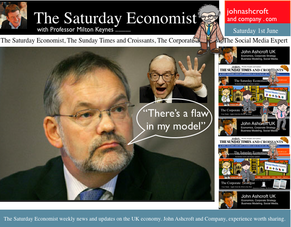 The Saturday Economist, Latest Blog Updates, Feeling good, flaw in the model, Charlie Bean