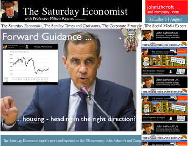 The Saturday Economist, Forward Guidance,