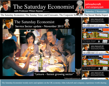 The Saturday Economist, Leisure Sector leads recovery