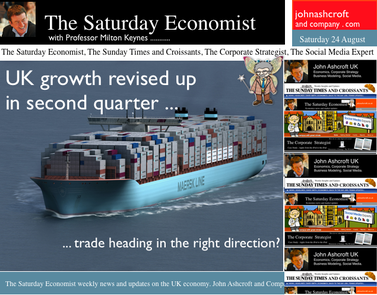 The Saturday Economist, Latest Post, Growth revised up in Q2