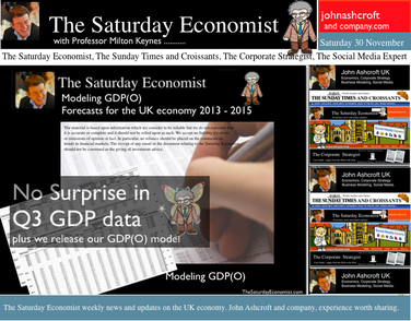 The Saturday Economist, no surpise in GDP data