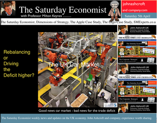 The Saturday Economist, Car Sales Soar, House Prices up 10%