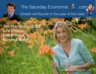 The Saturday Economist, Growth will flourish in the year of the Lilies ...