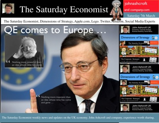 The Saturday Economist, QE comes to Europe, an idea whise time has come and gone