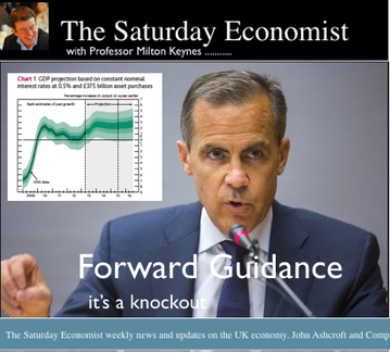 The Saturday Economist, Latest Bog Post, Economics, Forward Guidance