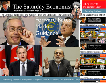 The Saturday Economist, Base rates on hold but for how long?
