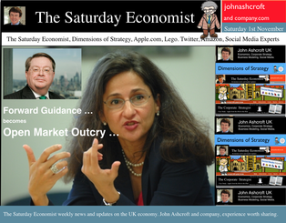 The Saturday Economist, Weekly Review, 1st November 2015