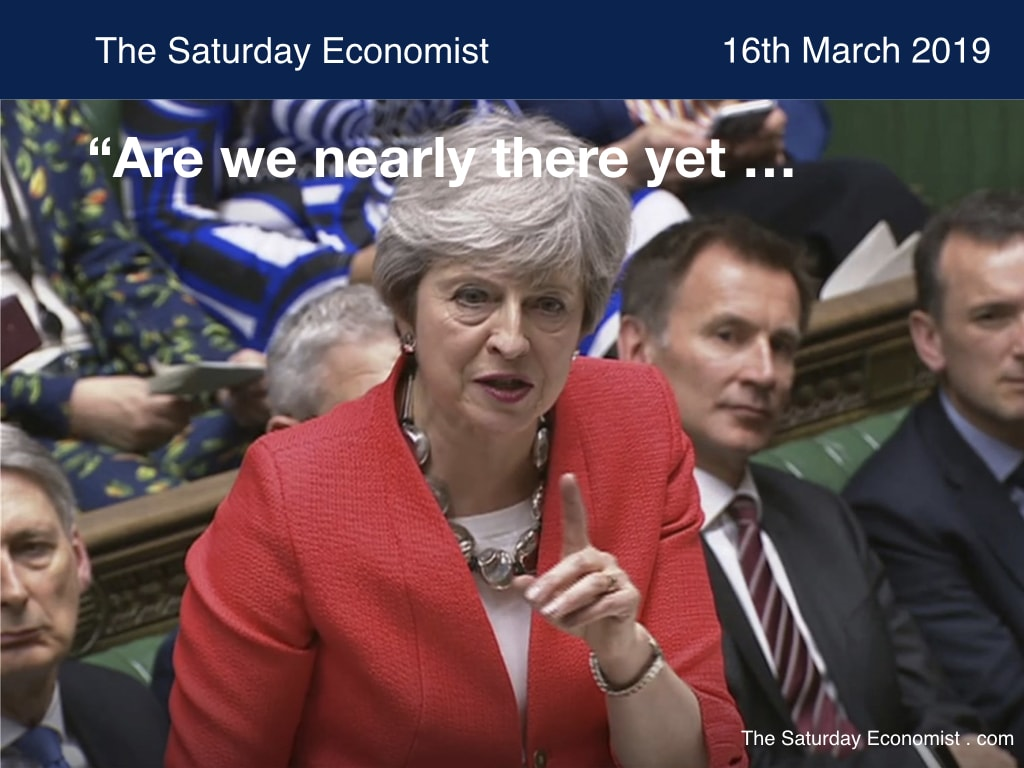 The Saturday Economist : Are we nearly there yet?
