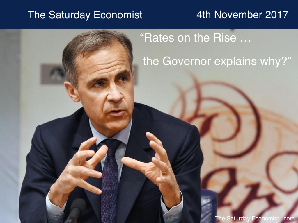 The Saturday Economist ... Rates on the Rise, the Governor explains why