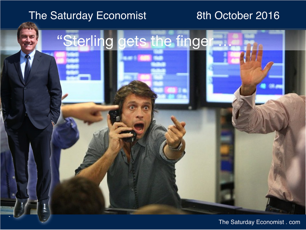 The Saturday Economist - Sterling gets the finger ...